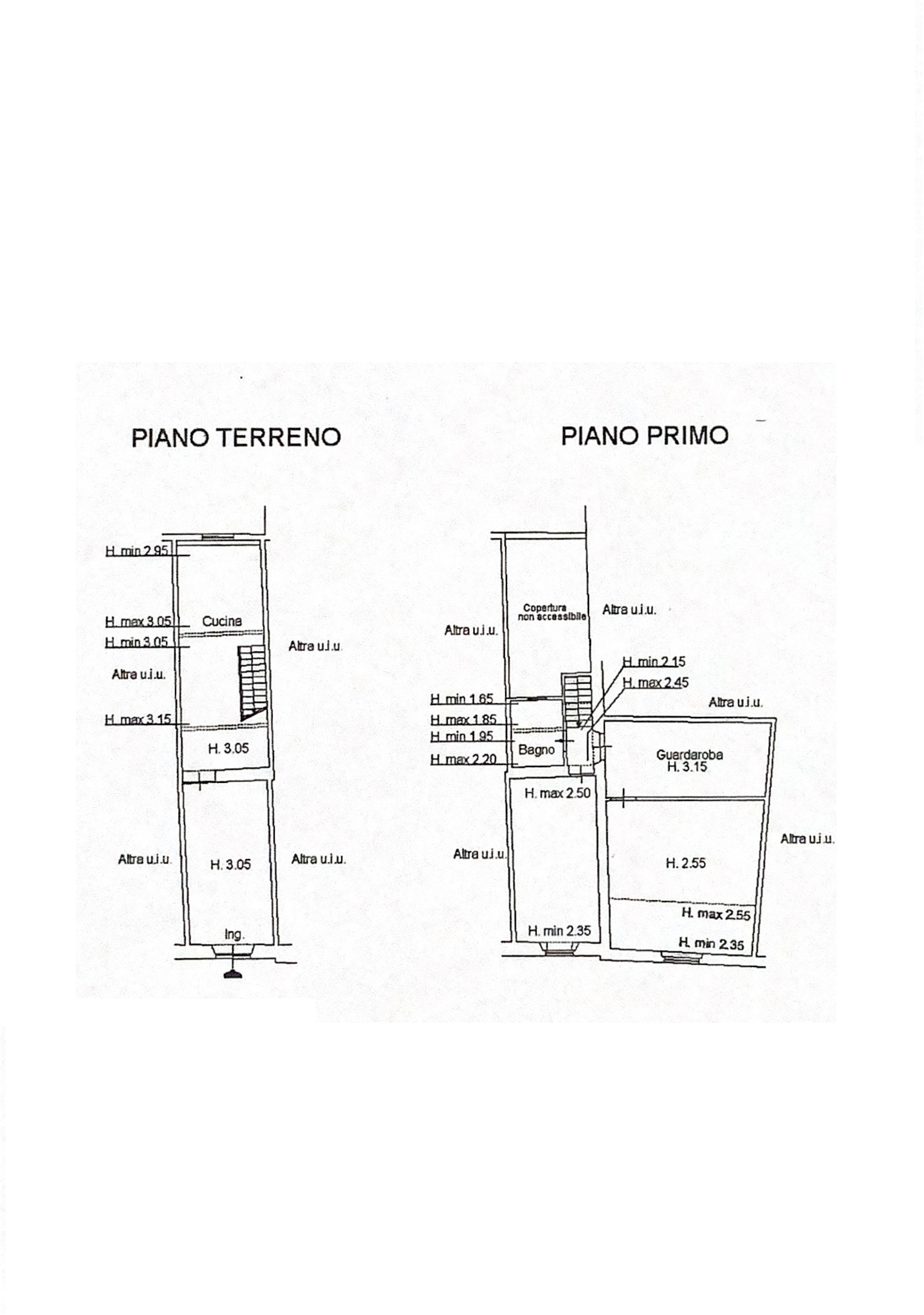 Terratetto in vendita, rif. K092 (Planimetria 1/1)