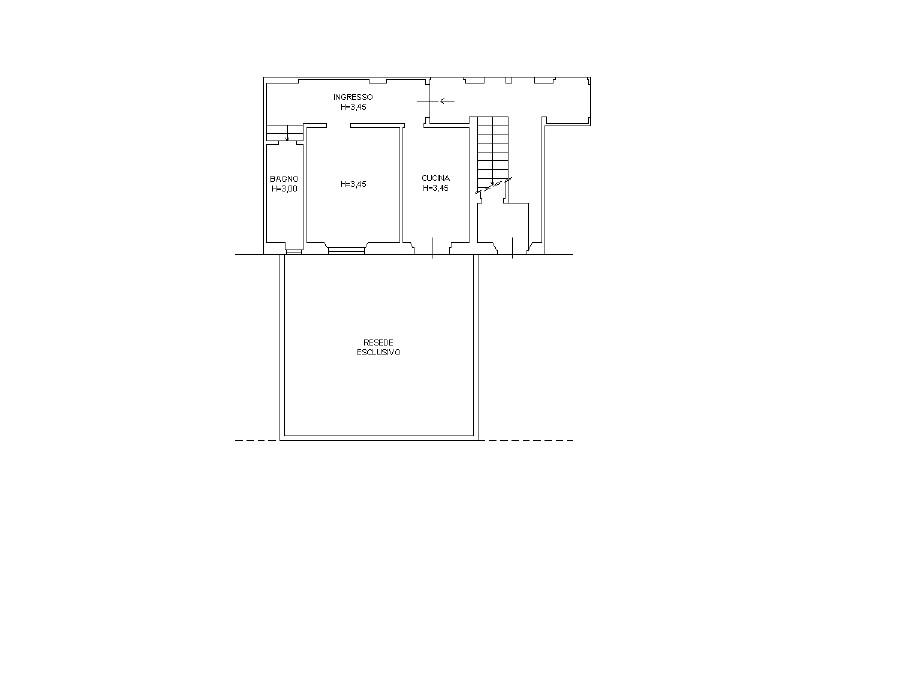 Appartamento in vendita, rif. K095 (Planimetria 1/1)