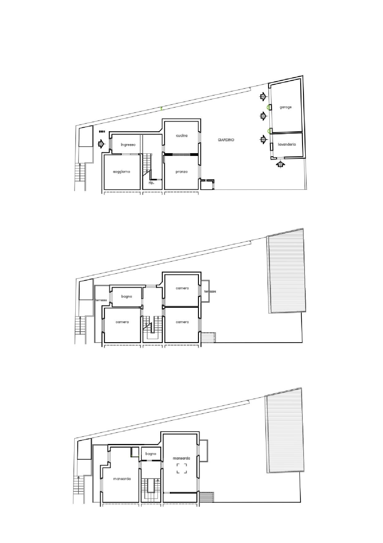 Villetta a schiera in vendita, rif. K098 (Planimetria 1/1)