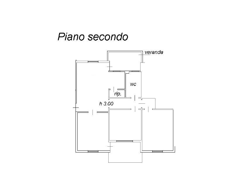 Appartamento in vendita, rif. K105 (Planimetria 1/1)