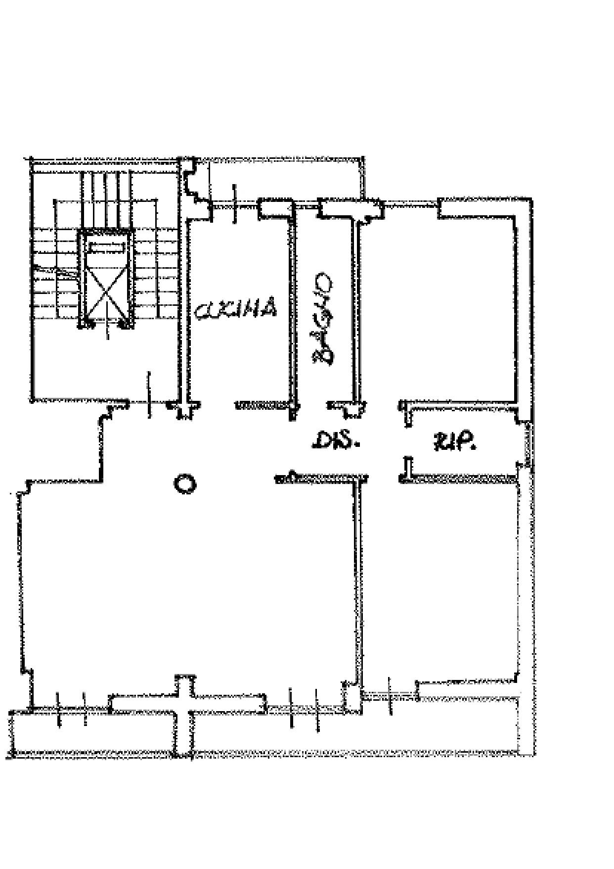 Appartamento in vendita, rif. K109 (Planimetria 1/1)