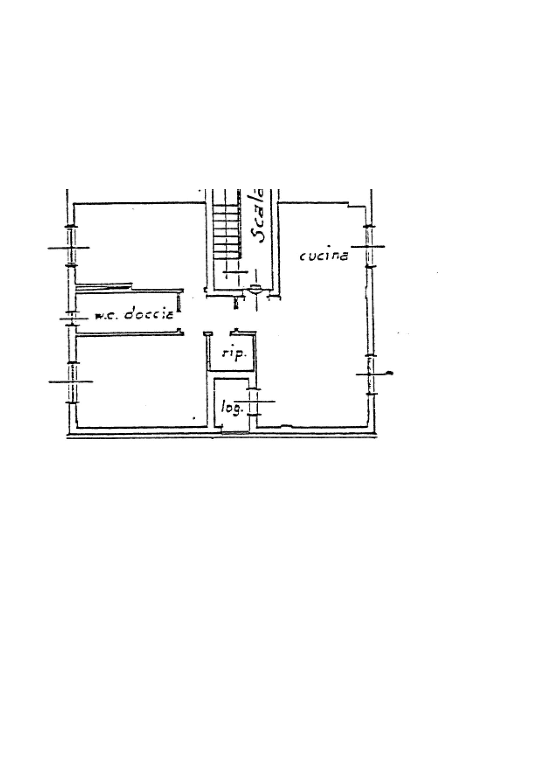Appartamento in vendita, rif. K112 (Planimetria 1/1)
