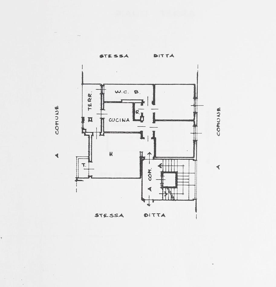Appartamento in vendita, rif. K114 (Planimetria 1/1)