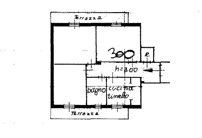 Appartamento in vendita, rif. K124 (Planimetria 1/1)