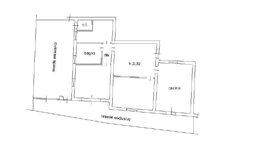 Appartamento in vendita, rif. K126 (Planimetria 1/1)