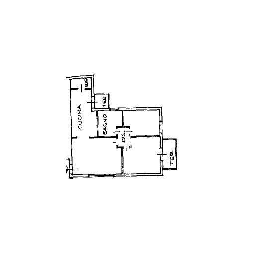 Appartamento in vendita, rif. K130 (Planimetria 1/1)