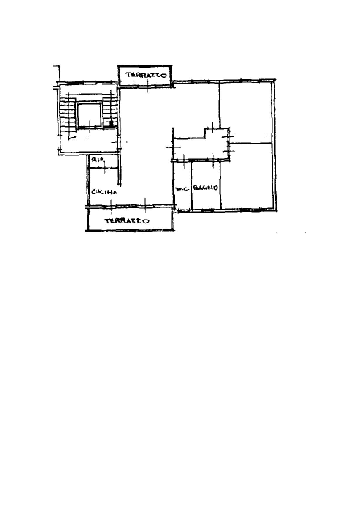 Appartamento in vendita, rif. K132 (Planimetria 1/1)