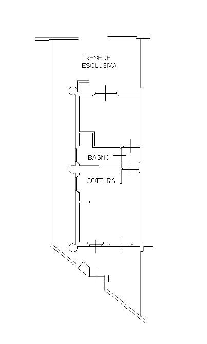 Appartamento in vendita, rif. K143 (Planimetria 1/1)