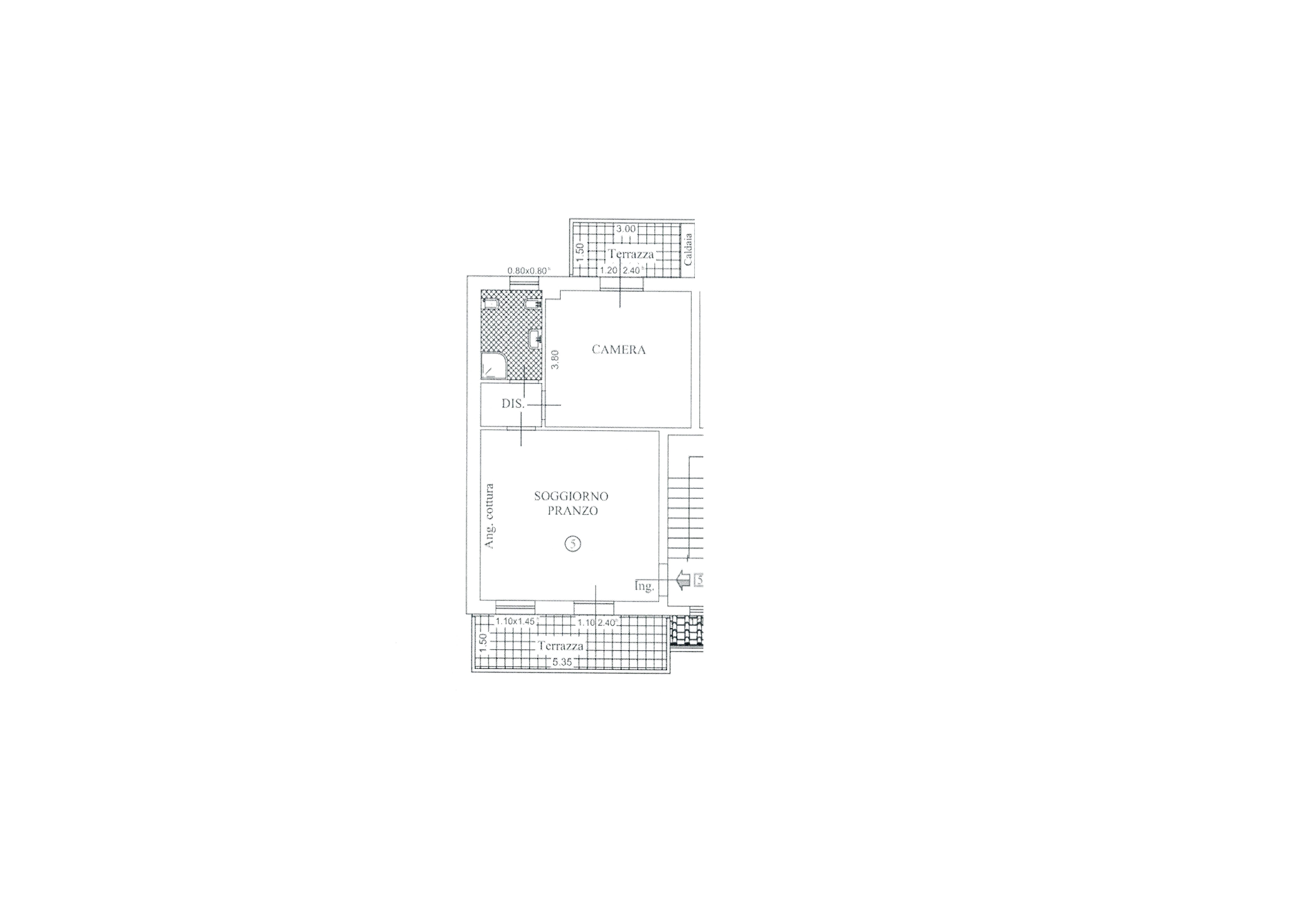 Appartamento in vendita, rif. K146 (Planimetria 1/1)