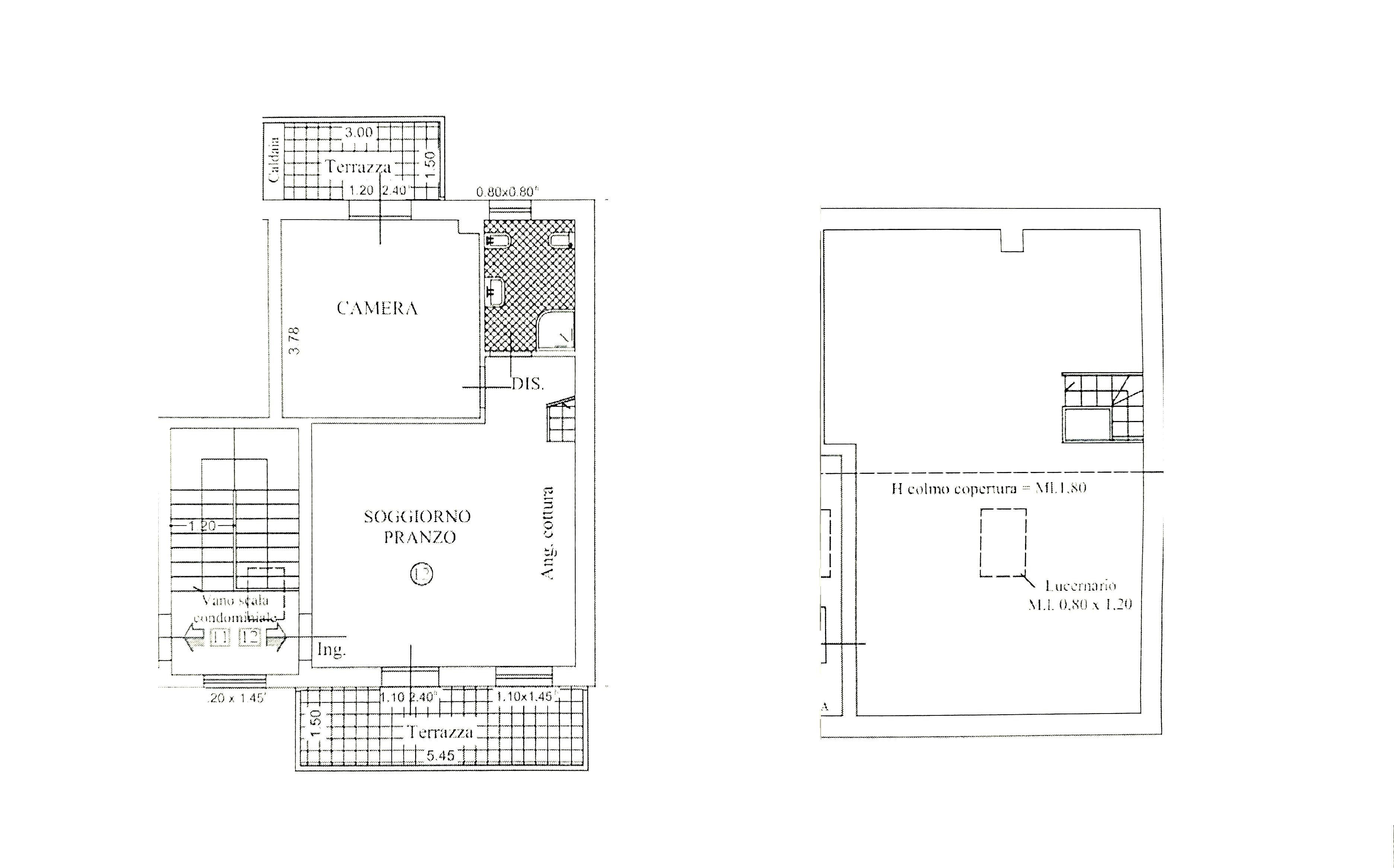 Appartamento in vendita, rif. K147 (Planimetria 1/1)