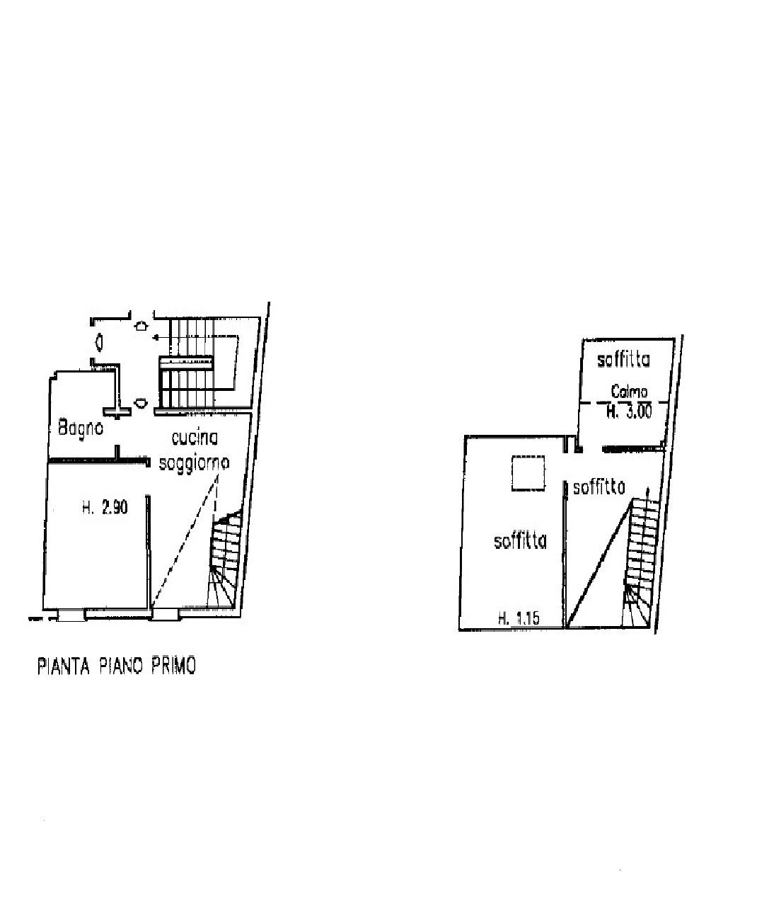 Appartamento in vendita, rif. K156 (Planimetria 1/1)