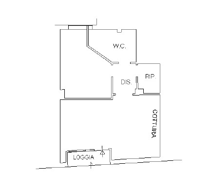 Appartamento in vendita, rif. K148 (Planimetria 1/1)