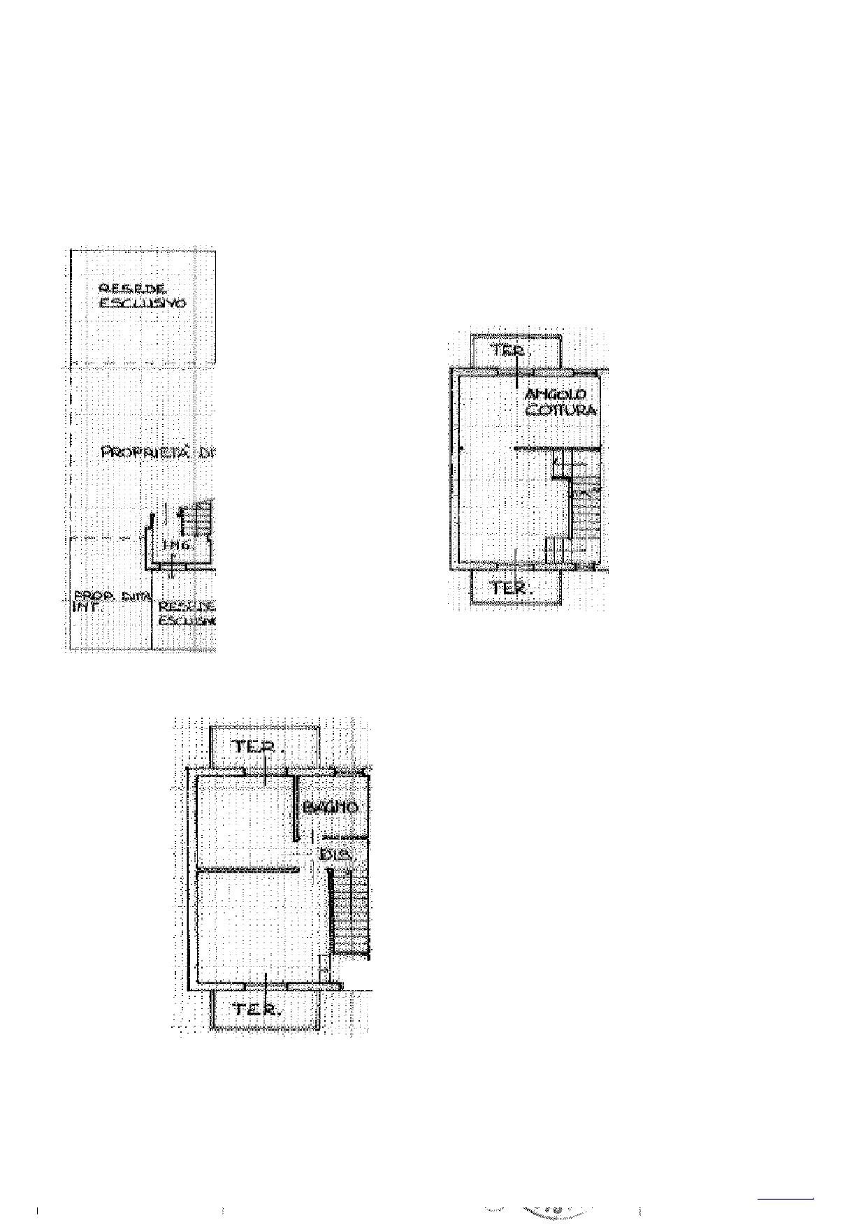 Terratetto in vendita, rif. K159 (Planimetria 1/2)