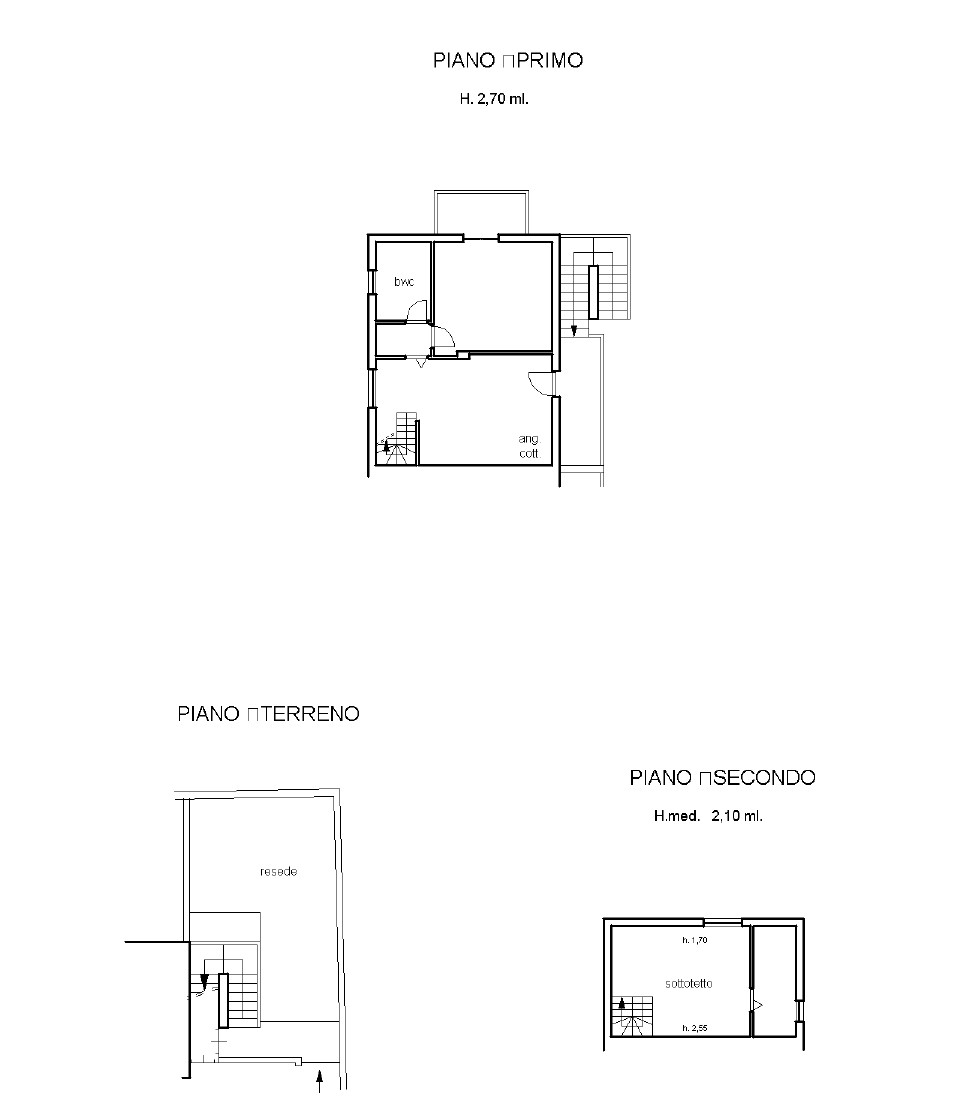 Appartamento in vendita, rif. K161 (Planimetria 1/1)