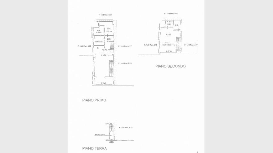 Planimetria 1/1 per rif. rustL1