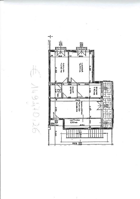 Appartamento in vendita, rif. ap43 (Planimetria 1/1)