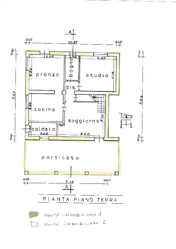 Planimetria 1/1 per rif. V08