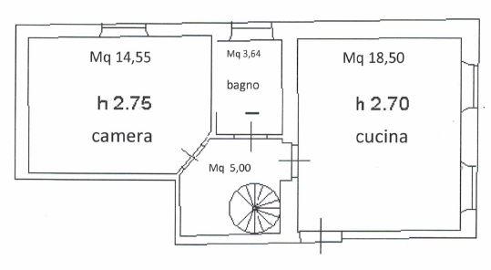 Planimetria 1/1 per rif. 0016