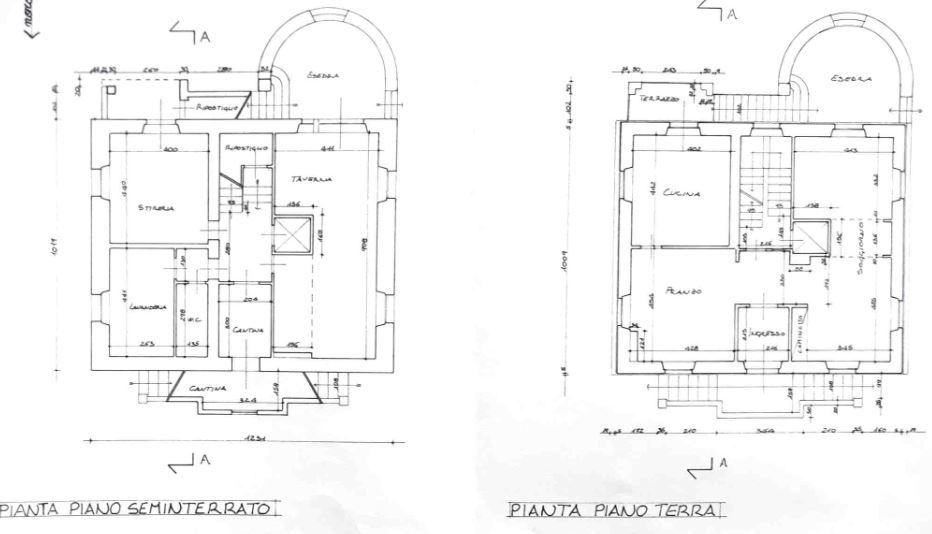 Planimetria 1/2 per rif. 0023