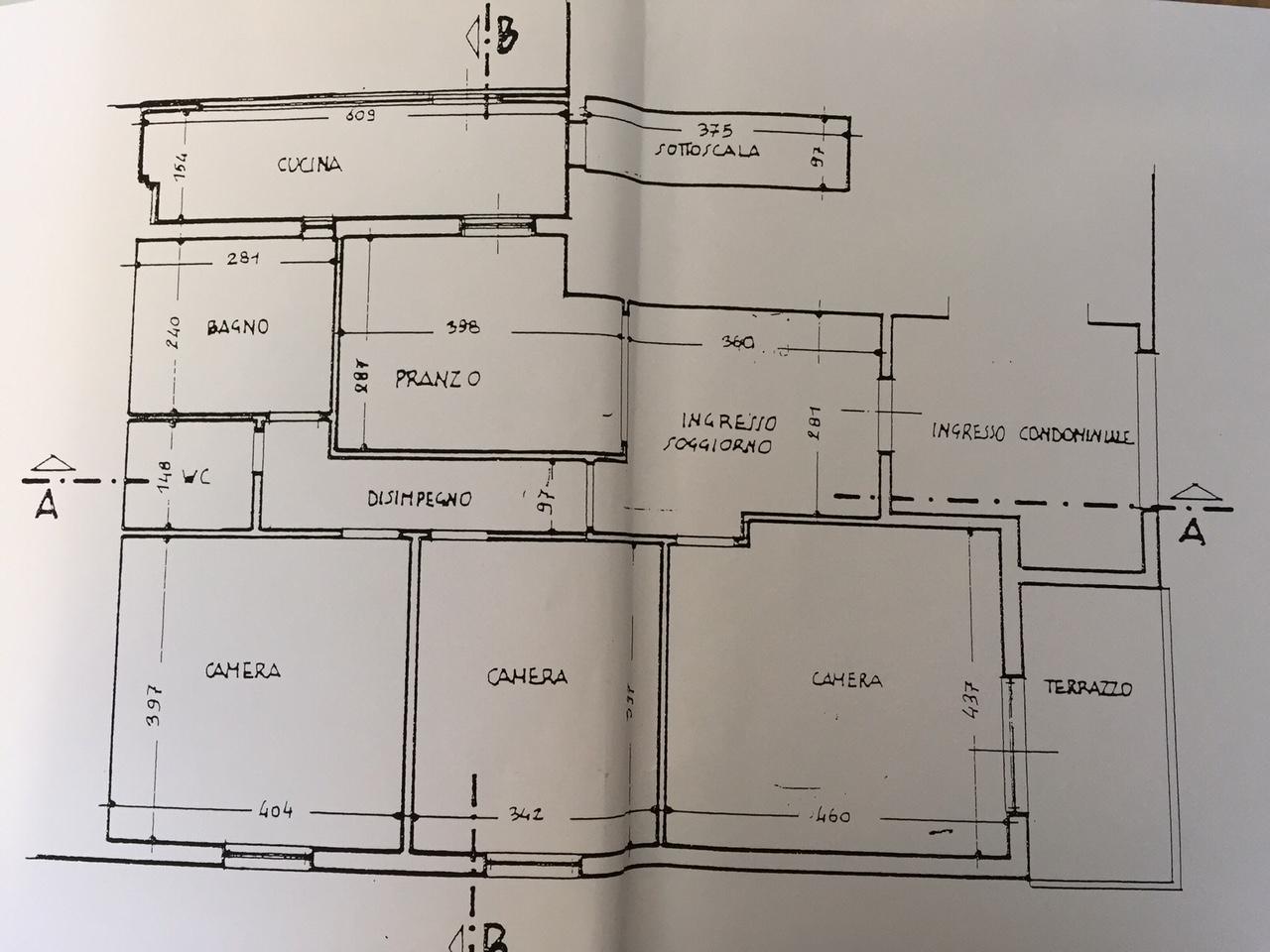 Planimetria 1/1 per rif. 0025