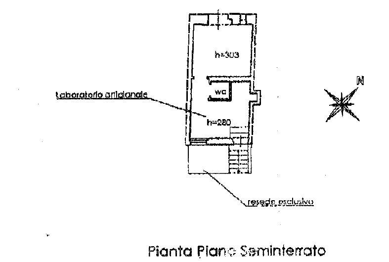 Planimetria 1/2 per rif. 0030