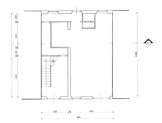 Planimetria 1/1 per rif. 0033