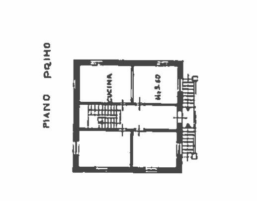 Planimetria 1/4 per rif. 0037