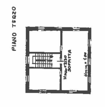 Planimetria 3/4 per rif. 0037