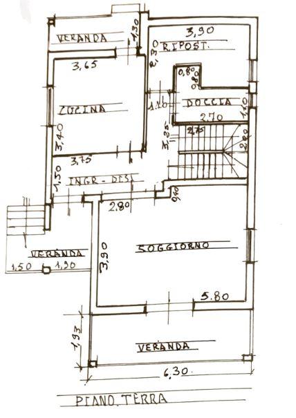 Planimetria 3/3 per rif. 0045