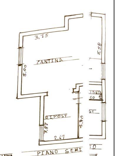 Planimetria 1/3 per rif. 0045