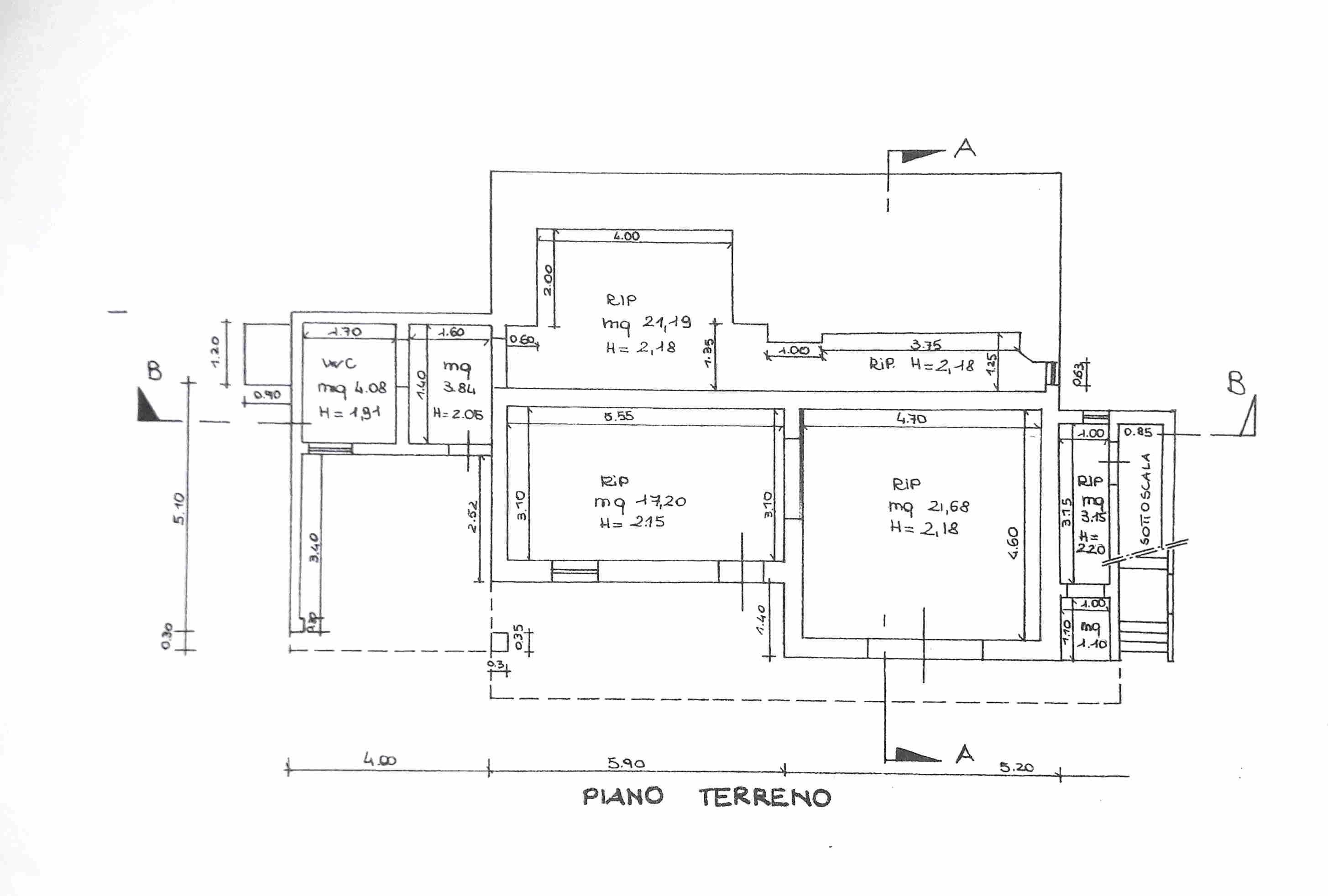 Planimetria 2/2 per rif. 0051