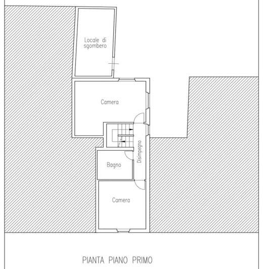 Planimetria 2/3 per rif. 0052