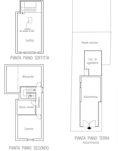 Planimetria 3/3 per rif. 0052