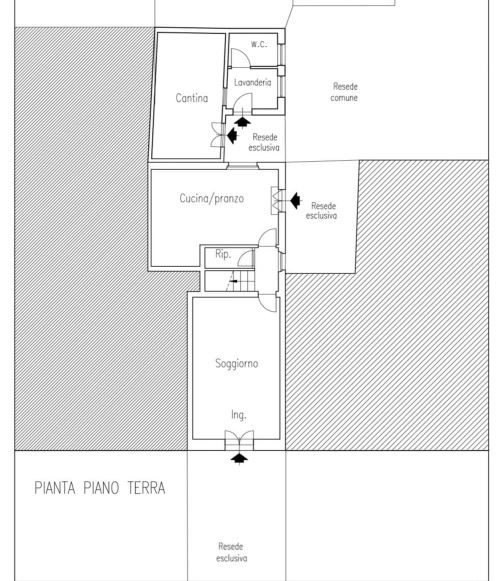 Planimetria 1/3 per rif. 0052