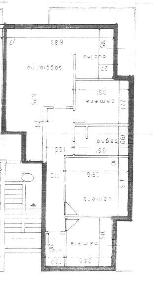 Planimetria 1/1 per rif. 0055
