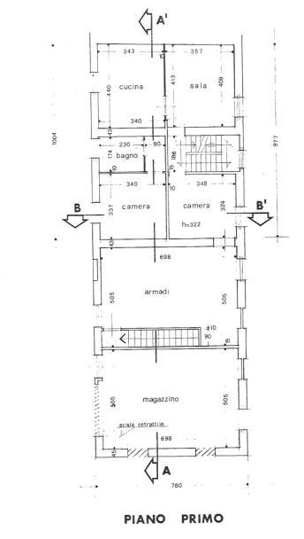 Planimetria 2/4 per rif. 0056