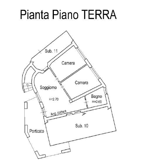 Planimetria 2/4 per rif. 0061