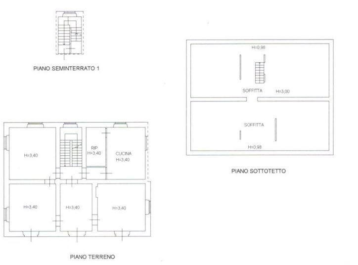 Planimetria 2/4 per rif. 0073