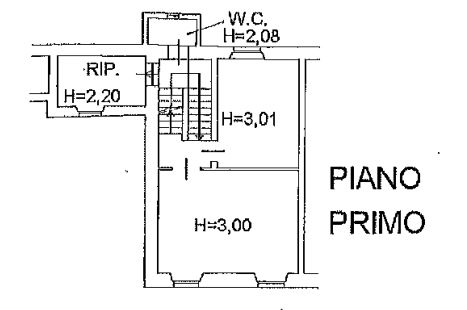 Planimetria 1/4 per rif. 0074