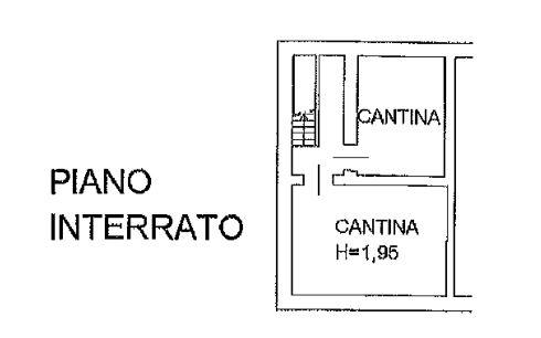 Planimetria 3/4 per rif. 0074