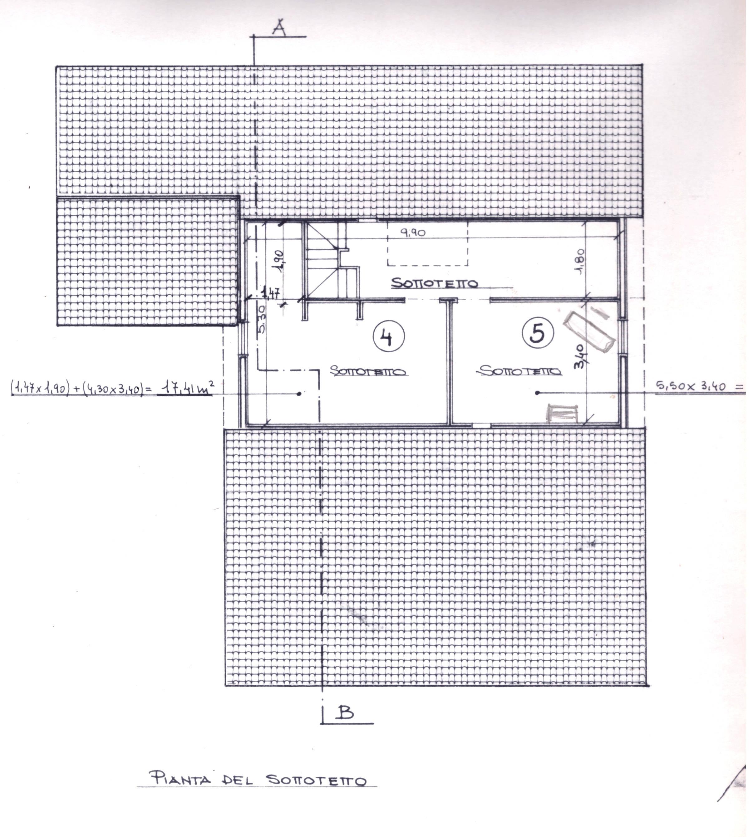 Planimetria 1/5 per rif. 0075