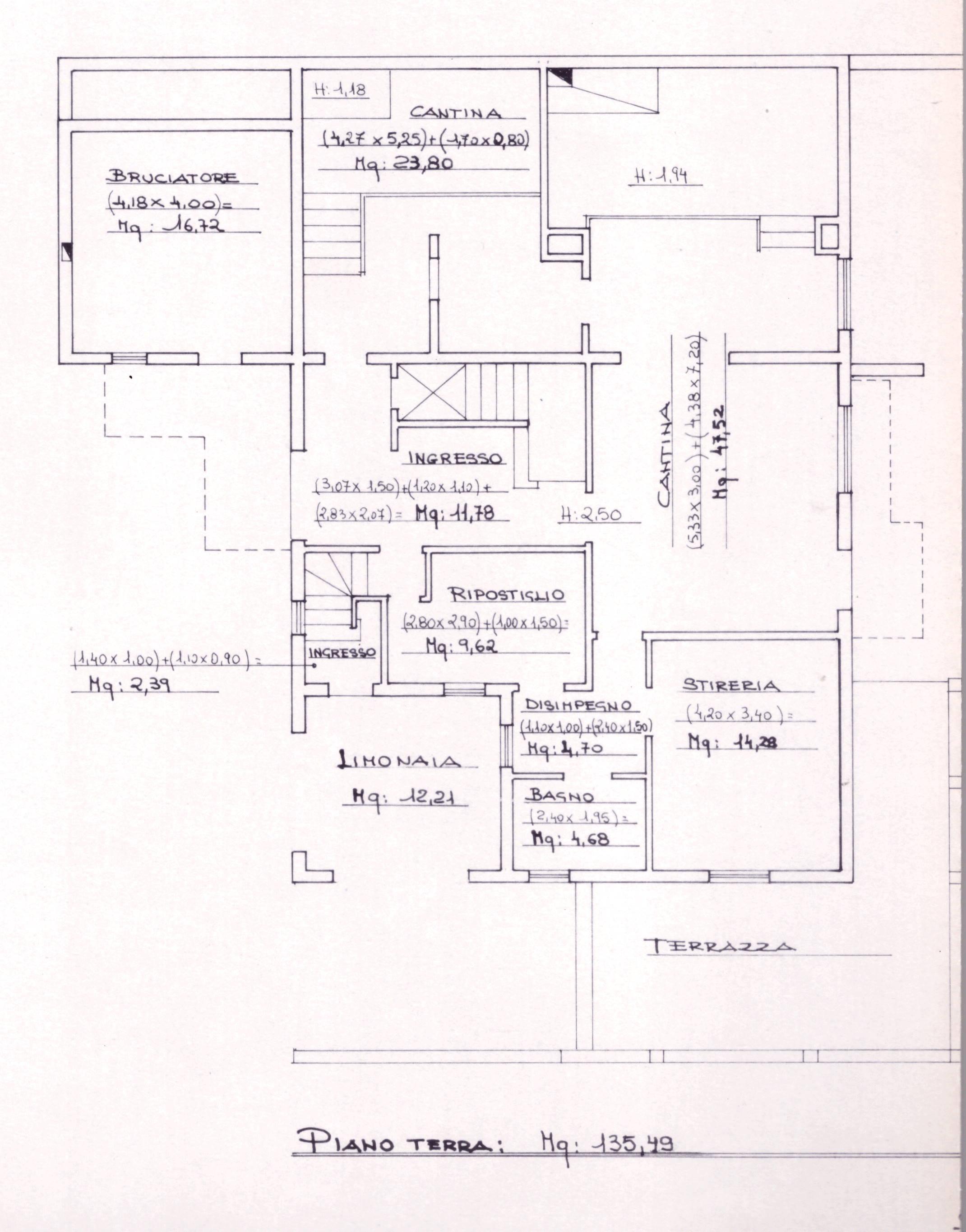 Planimetria 5/5 per rif. 0075