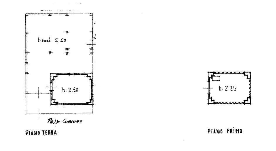 Planimetria 1/3 per rif. 0085