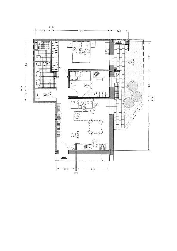 Planimetria 1/1 per rif. 0092