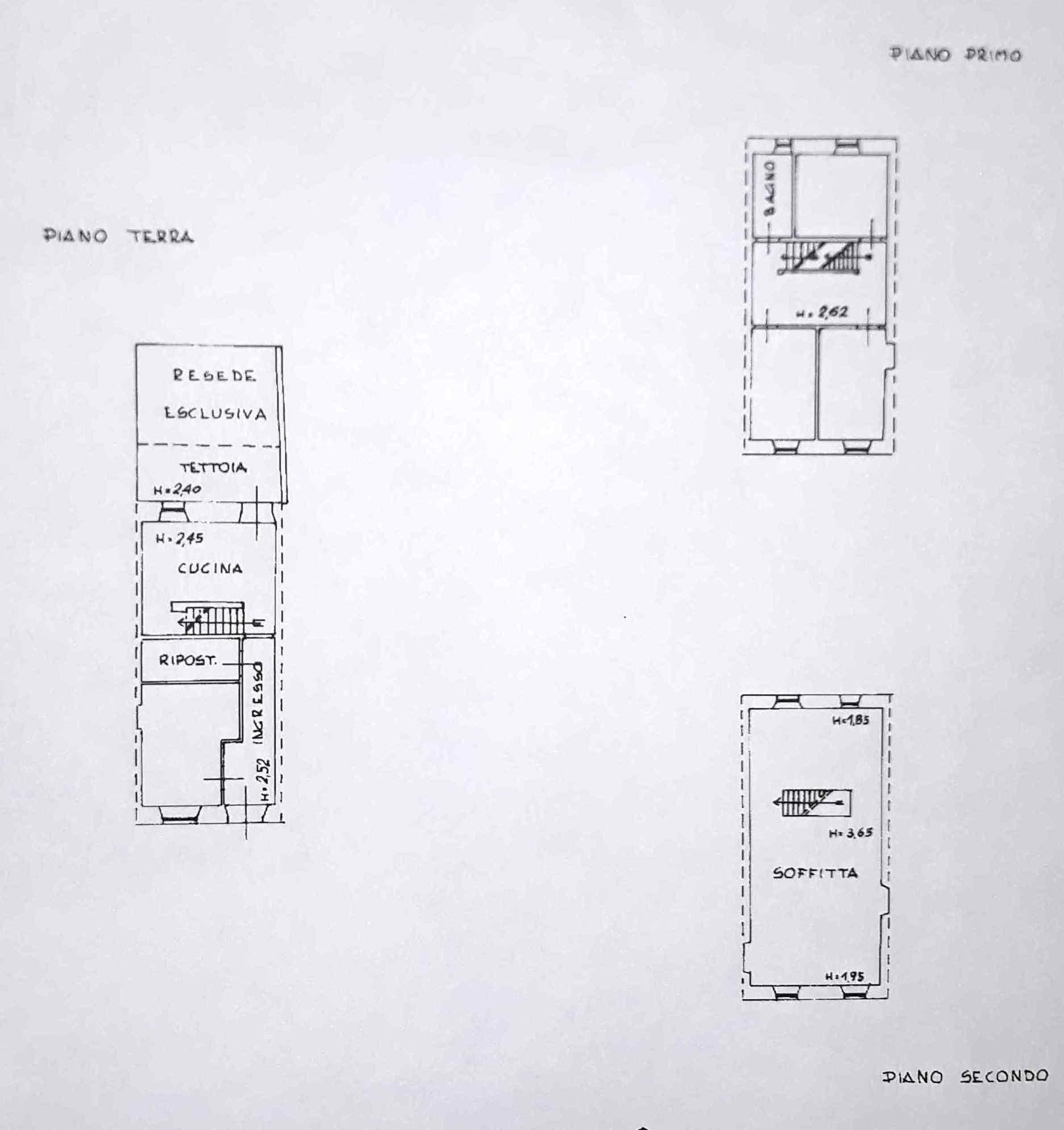 Planimetria 1/1 per rif. 0095