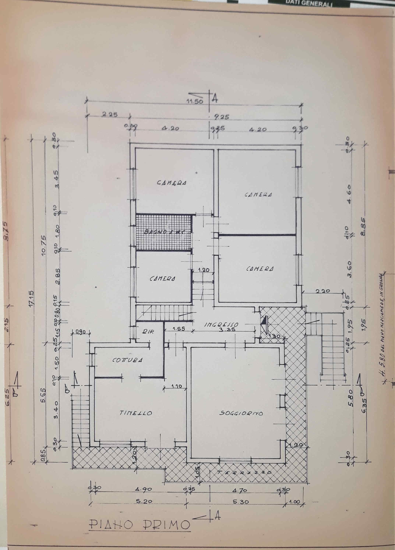 Planimetria 2/2 per rif. 0096