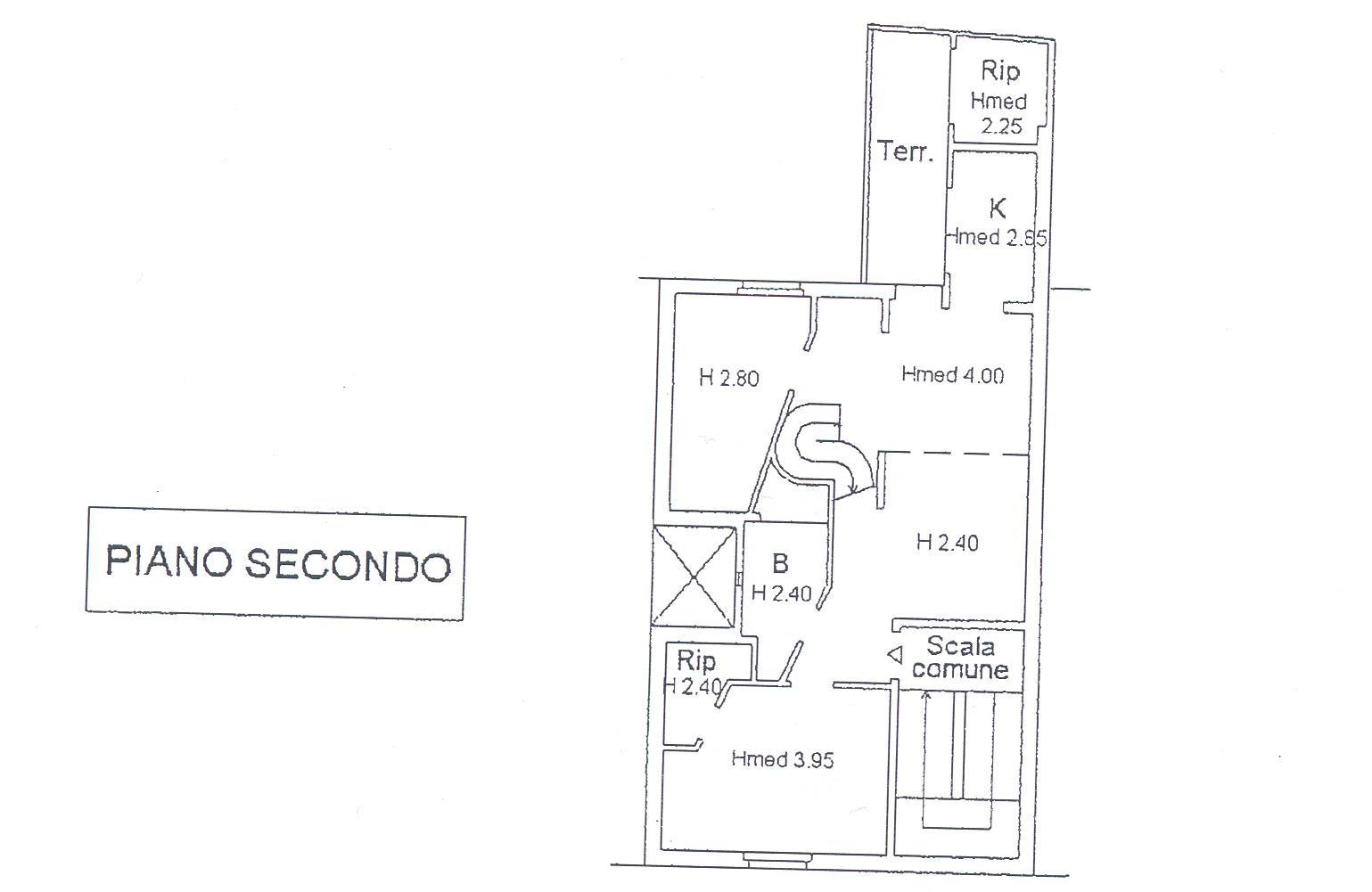 Planimetria 1/2 per rif. M/0102