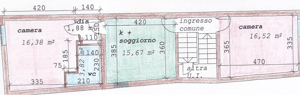 Planimetria 1/1 per rif. 1/3107