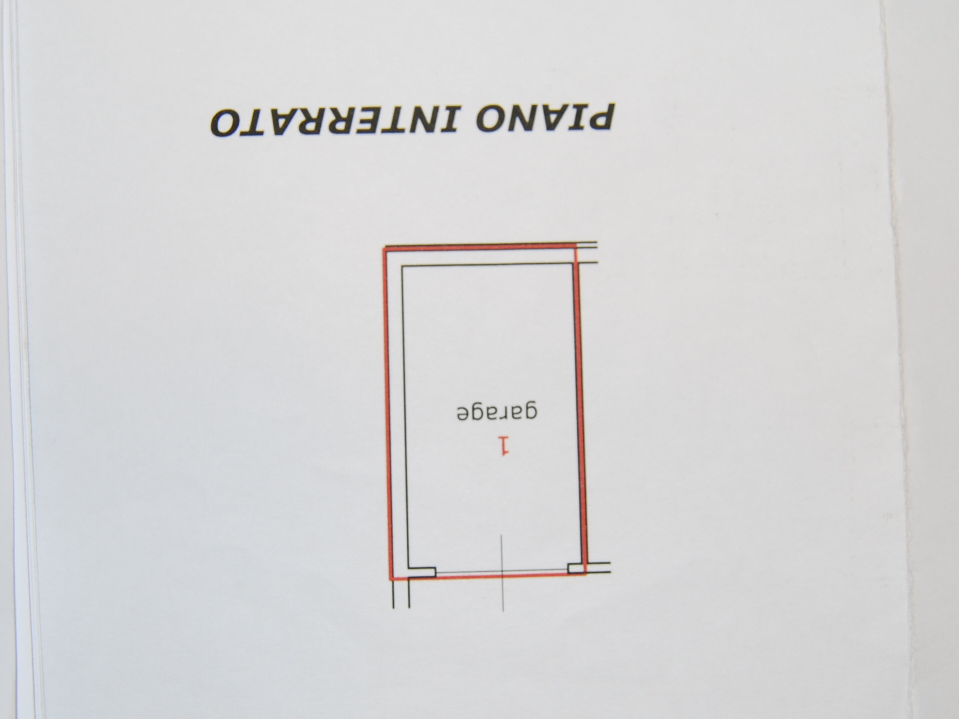 Planimetria 2/3 per rif. P/0108