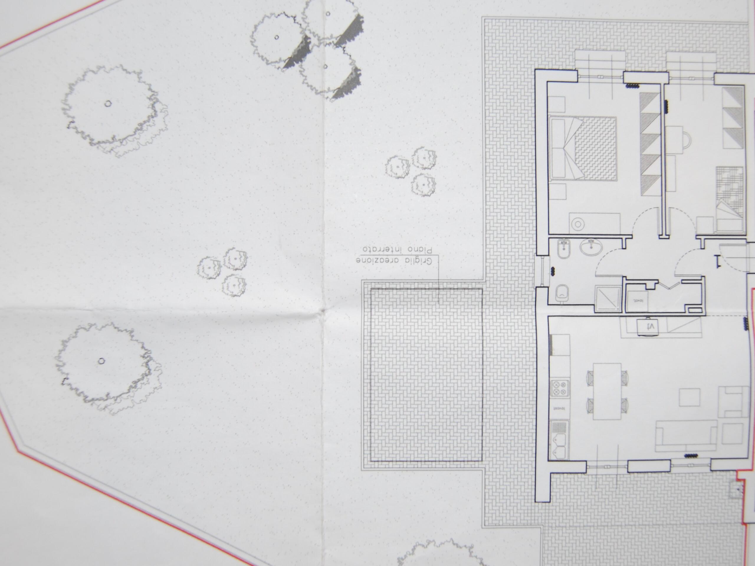 Planimetria 1/3 per rif. P/0108